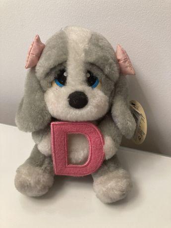 Peluche para meninas nome letra D
