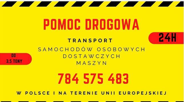 Pomoc drogowa / usługi transportowe