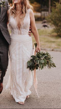Suknia slubna w stylu Boho  Arya Milla Nova