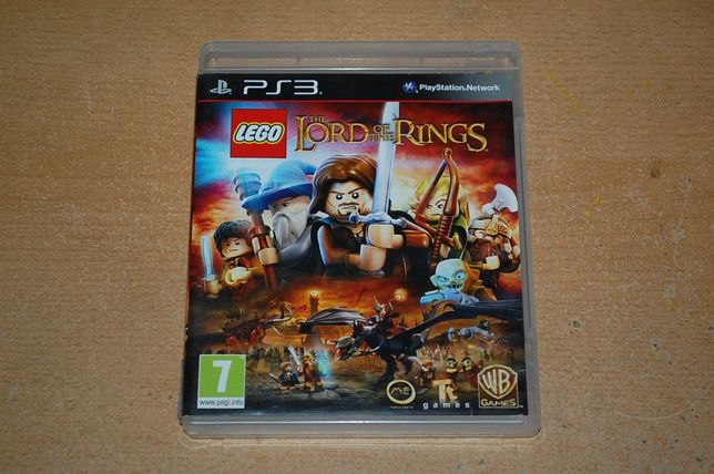 Gra Lego Lord of the Rings na ps3