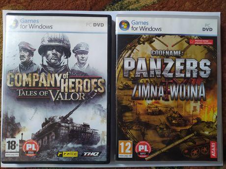 Gry PC Company of Heroes Tales of Valor i  Codename: Panzers Zimna Woj