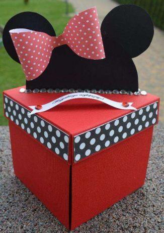 Exploding box / na imieniny, urodziny / prezent mikim ślub, komunie