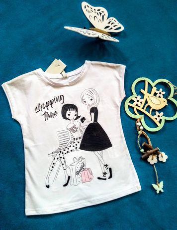 koszulka dziewczęca 104