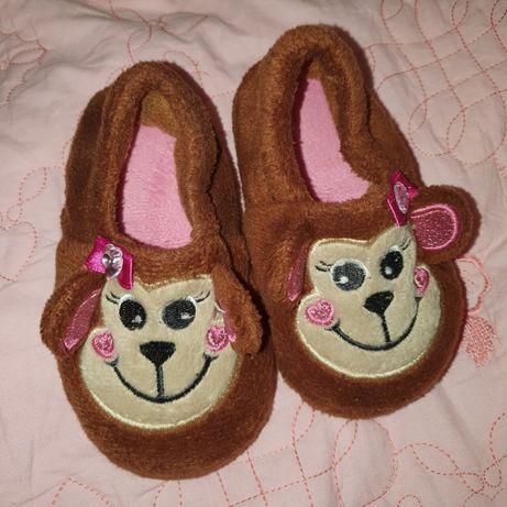 Мокасины тапочки туфли велюровые 12 12,5 см 18 19 размер босоножки 21