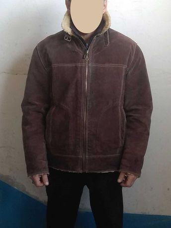 Дублёнка мужская из Турции (на рост 173 см). Поменяю на куртку.