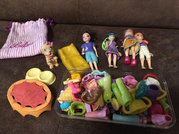 Laleczki Polly z akcesoriami i ubrankami! Little Polly- mega zestaw!