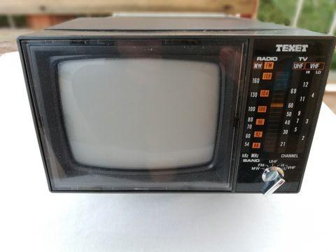 TV Portátil - Uma verdadeira relíquia!