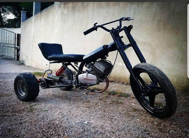 Trike dirft motorizado