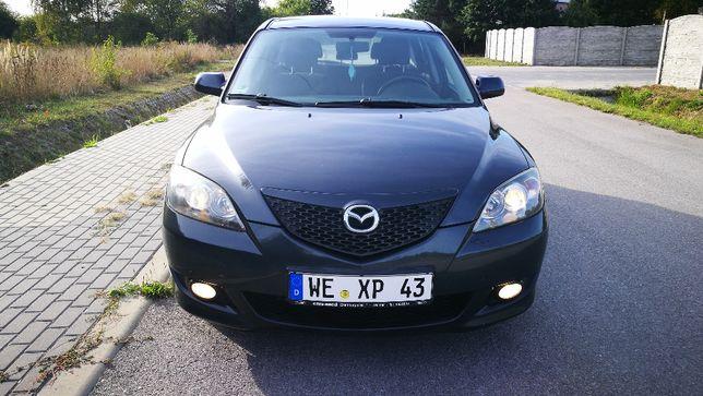 Mazda 3 2005r, 1,6 -benzyna