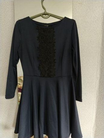 Тёплое платье 46 р.