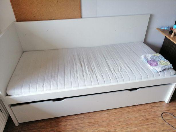 Łóżko młodzieżowe ikea podwójne spanie Pilne