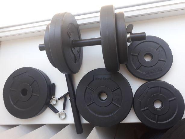 Гантелі Total Sport Adult Dumbbells Set 15kg