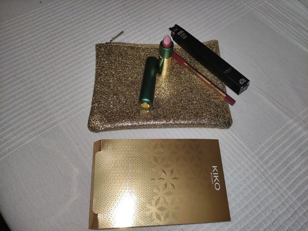 Bolsa Kiko com batom + lápis