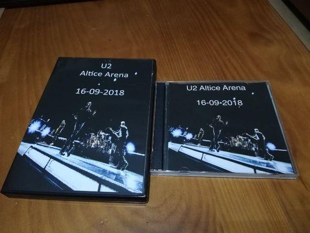 dvd + cd u2 altice arena domingo dia 16