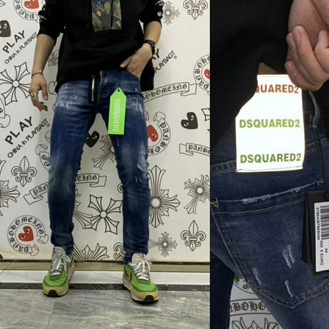 Spodnie męskie Dsquared2 jeans FALL WINTER SS20 #D2DENIM