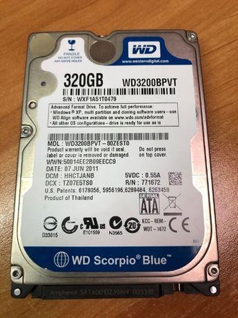 """Disco Western Digital 2,5"""" 320GB como novo"""
