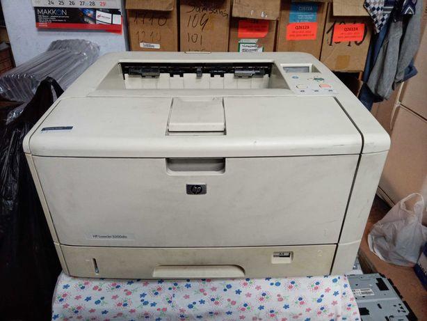 Лазерный принтер HP LaserJet 5200dtn формата А3/A4 с дуплексом и сетью