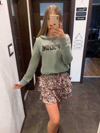 Bluza W Kolorze Khaki M0schino Mega Jakość Super Cena !!!