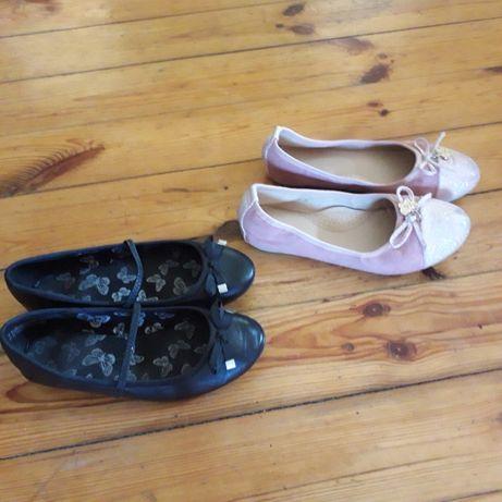 Buty - balerinki dla dziewczynki. Roz. 35