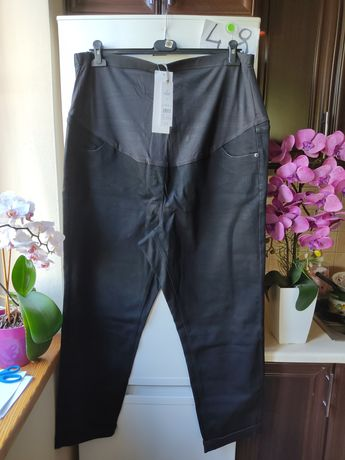 Spodnie ciążowe 48r