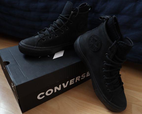 Buty - skórzane Converse Chuck Taylor WP Boot r. 39 - czarne
