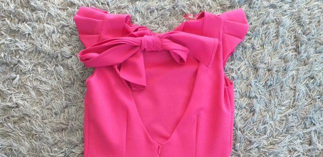 Sukienka Zara z odkrytymi plecami