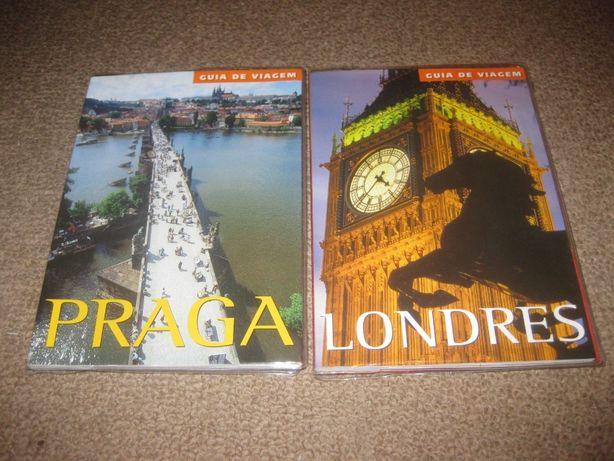 2 Livros Guia de Viagens/Praga e Londres