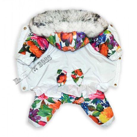 Комбинезон для собак (зимняя одежда) в размерах! ЛУЧШЕЕ КАЧЕСТВО