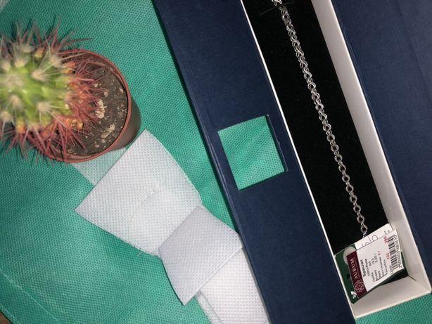 Серебряный браслет 925 пробы размер 18,5