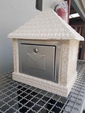 Caixas de correio de cimento