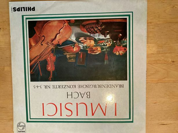 Bach Koncerty Brandenburskie I Musici mono