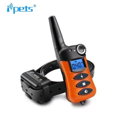 Электронный ошейник iPets620 для собак,водонепроницаемый,до 300 м.