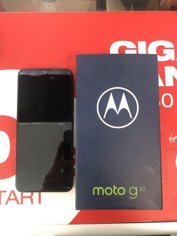 Motorola G10 64/4GB 5000mAh 48Mpx (Nieużywany Gwarancja 24 Msc. Sklep)