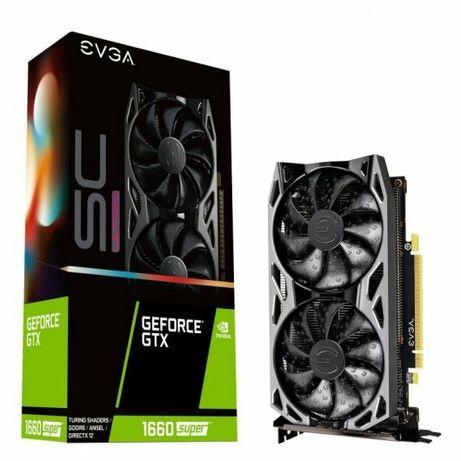 Placa Gráfica EVGA GTX 1660 Super - Nvidia GeForce