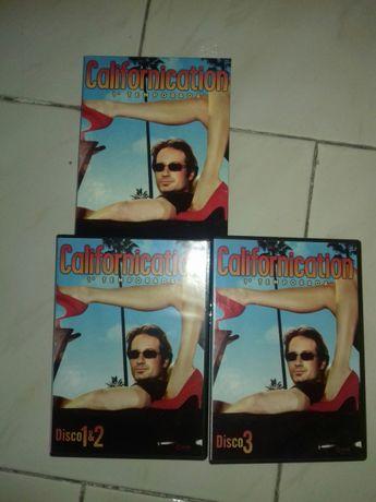 DVD califorication 1 temporada 3 CDS colecção