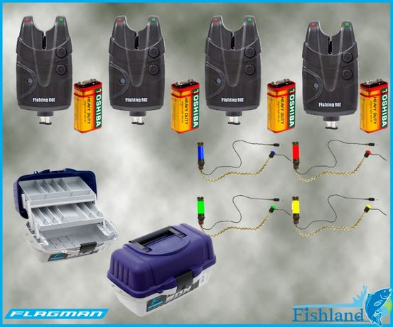 Электронные сигнализаторы X5pro + Кроны + Свингера + Ящик в ПОДАРОК !