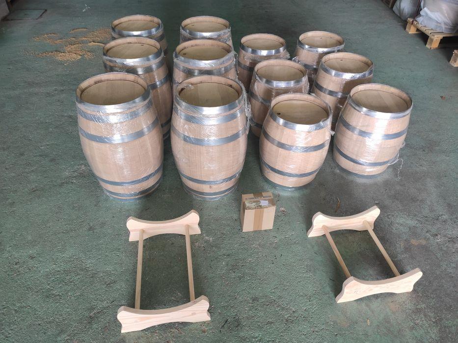 Barris/pipos em madeira de carvalho francês Bougado (São Martinho E Santiago) - imagem 1