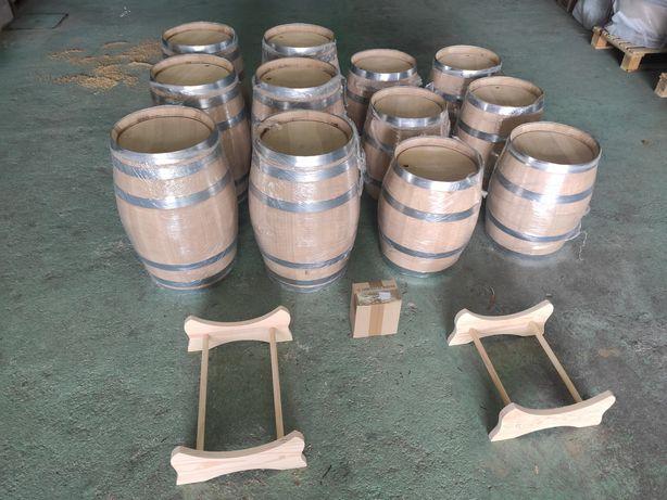 Barris/pipos em madeira de carvalho francês