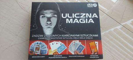 Gra sztuczki Uliczna Magia + DVD.
