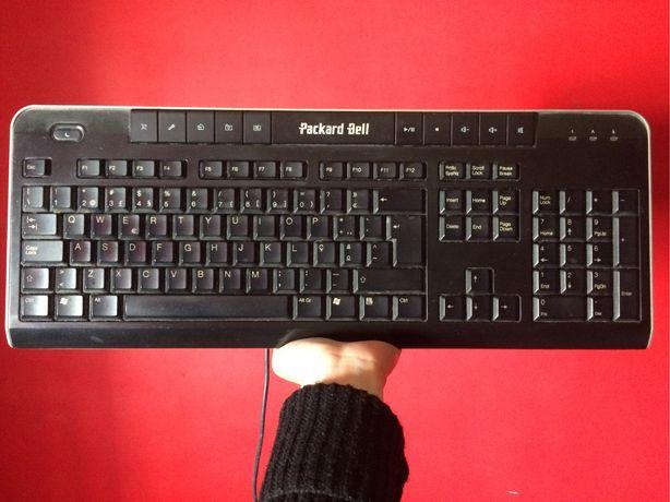 Teclado Packard Bell como novo