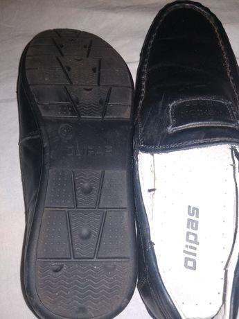 Туфли детские кожаные для мальчика.