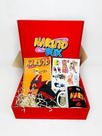 Naruto набор - Подарочный Бокс Наруто чашка Подарок для мальчика