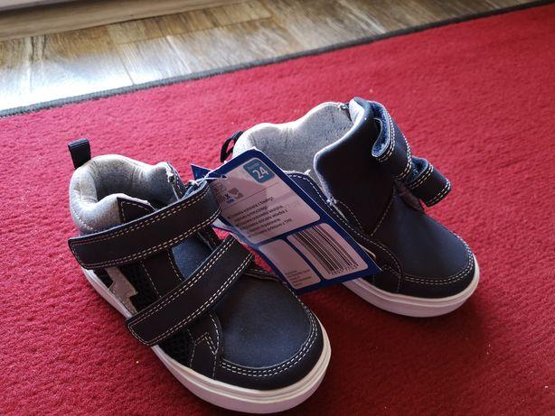 Adidasy buty 24  nowe  sneakersy za kostkę 24 (14cm)