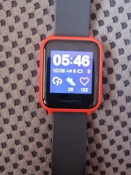 Smartwatch Amazfit gps pomarańczowy