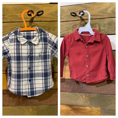 Сорочка для хлопчика ( рубашка), Beneton, TU