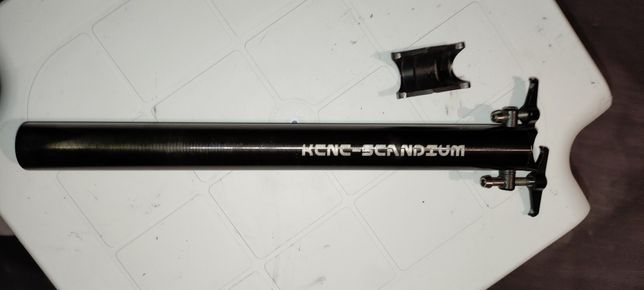 Espigão kcnc scandium TI pro lite 8000 31,6mm