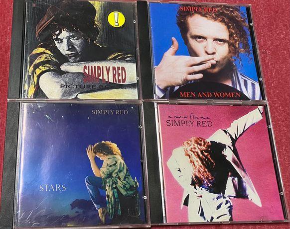 4 CD Simply Red (como novos)