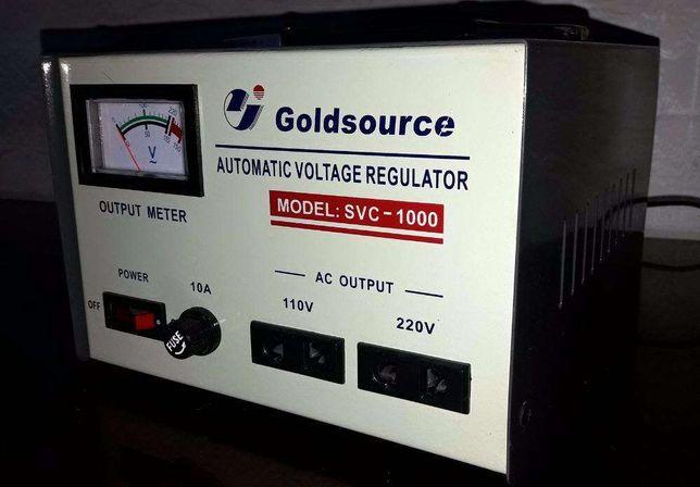 Стабилизатор напряжений Goldsource svc-1000