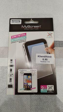 Защитная пленка на Samsung Galaxy S3 i9300 / новая / комплект из ЕС