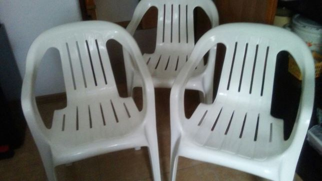 Krzesła ogrodowe, tarasowe